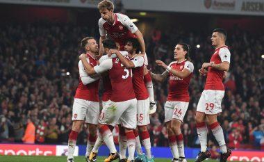 Arsenali i kthehet fitoreve, Lacazette ia siguron tri pikë ndaj WBA-së (Video)
