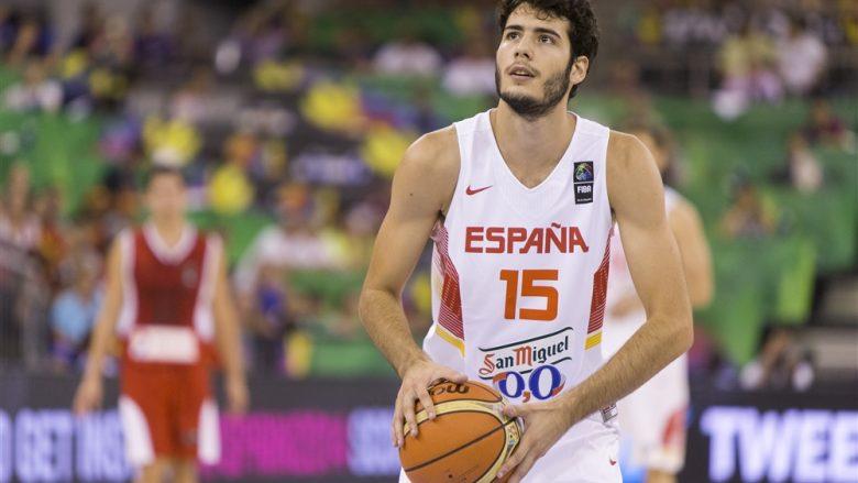 Oklahoma ia ndalon yllit spanjoll të paraqitet për kombëtaren në fazën post-grupore të Eurobasketit