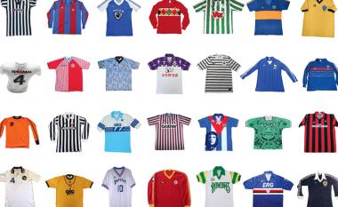 Dhjetë fanellat më të bukura në histori të futbollit – Italianët mbretër, befasojnë fanellat e Kombëtareve (Foto)