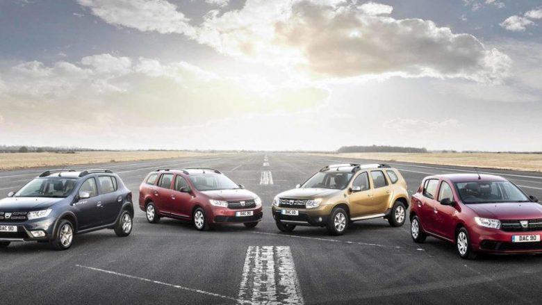 Pronarët e veturave votojnë Dacian si markën më të mirë konform çmimit