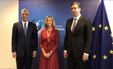 BE konfirmon, Thaçi dhe Vuçiq takohen të enjten në Bruksel