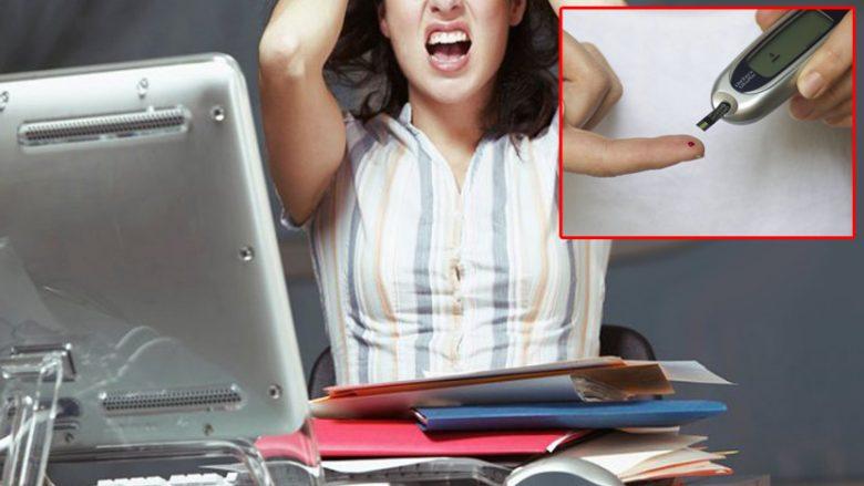 Frika nga përjashtimi nga puna shkakton diabetin?