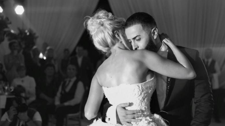 Geti dhe Marina publikojnë një seri imazhesh mahnitëse nga dasma (Foto)