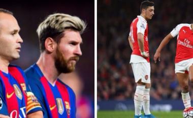 Formacioni me yjet që mbesin pa kontrata në 2018: Messi, Ozil dhe Iniesta janë vetëm disa nga ta (Foto)