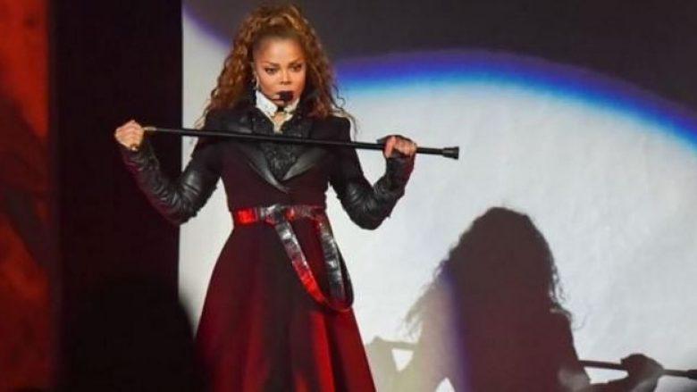 Janet Jackson i rikthehet koncerteve pas lindjes së djalit (Foto)
