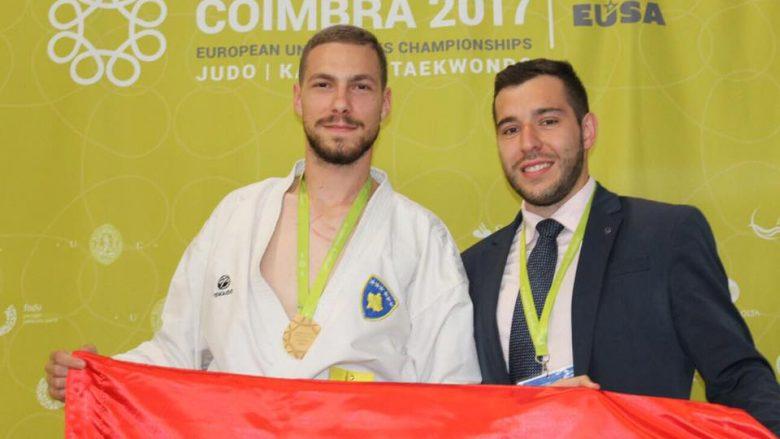 KOK-u ndanë tre mijë euro për shpenzimet e karateistit, Alvin Karaqi