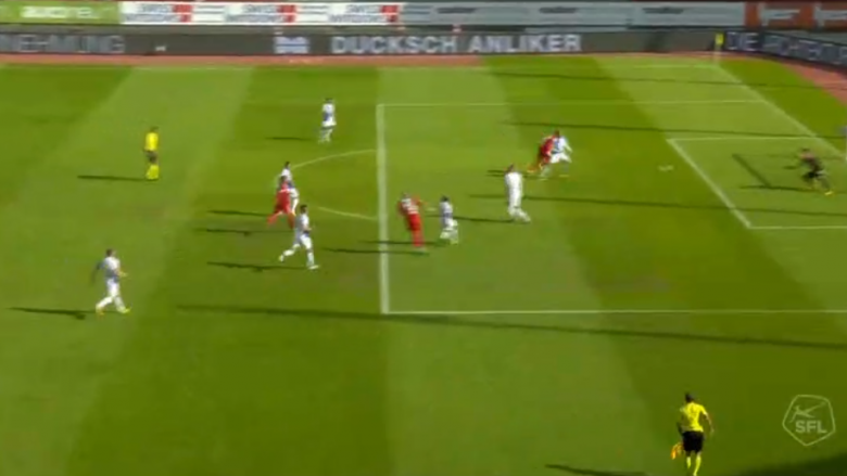 Kasami shënon gol të bukur ndaj Grasshoppersit (Video)