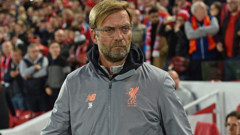 Jurgen Klopp arsyeton barazimin e Liverpoolit me Sevillan