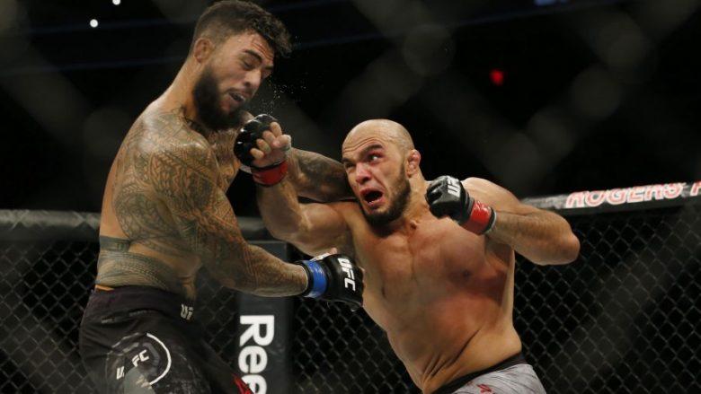 Latifi mposht Tyson Pedron, i afrohet garës për titull (Video)