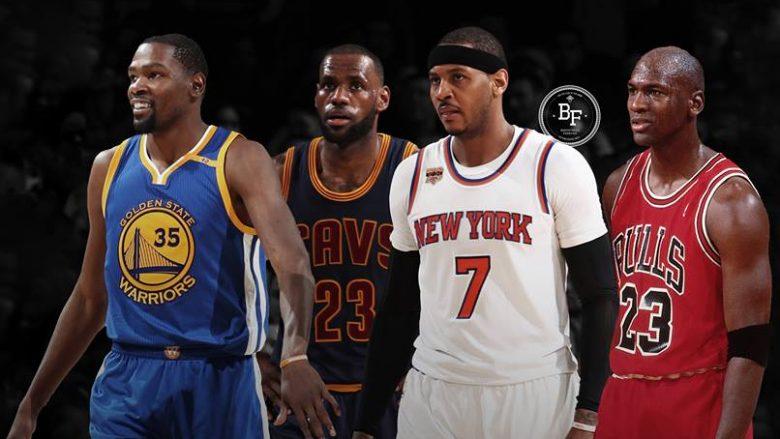 Vetëm katër basketbollistë në NBA kanë pasur mesatare prej 20 pikësh në gjithë karrierën e tyre (Video)