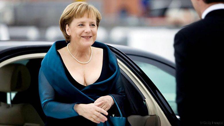 Në takimet zyrtare e shohim me pantallona, por si duket në fustane Angela Merkel (Foto)
