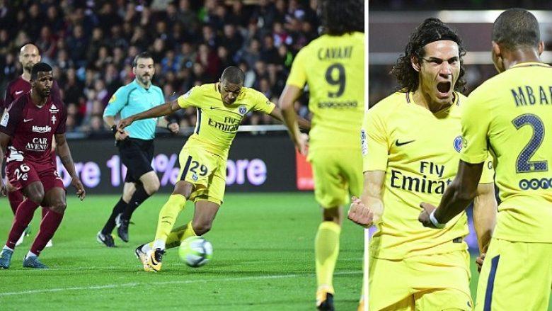 Vazhdon marshi i PSG-së – Neymar, Cavani dhe Mbappe shënojnë në fitoren e pestë me radhë për parisienët (Video)