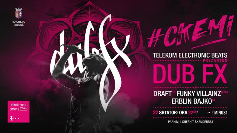 Dub FX vjen për herë të parë në Shqipëri në eventin më të veçantë të vitit (Video)