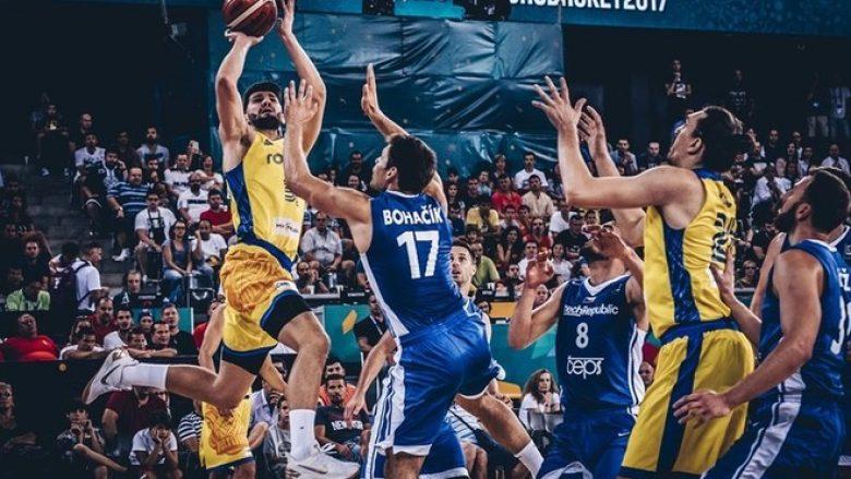 Eurobasket, Çekia gjunjëzon Rumaninë