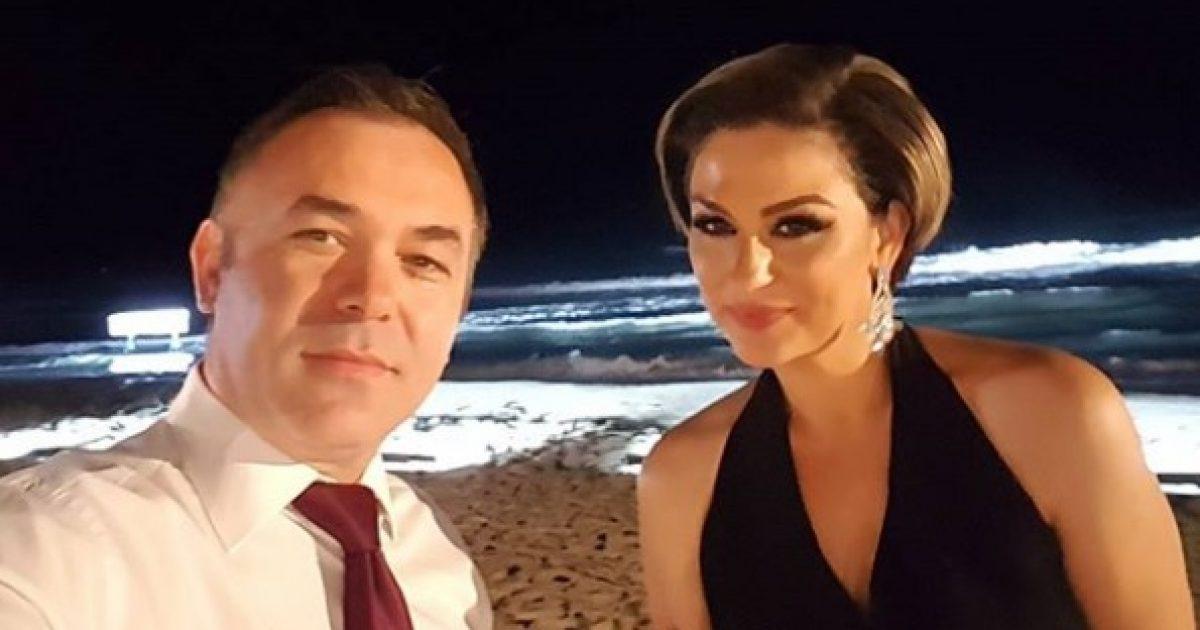 Rexhep Selimi shfaqet elegant pranë bashkëshortes në përvjetorin e 12 të të martesës