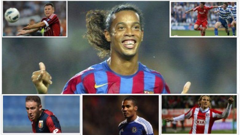 Lojtarët e lirë që mund ta zëvendësojnë Dembelen e lënduar – Nga Ronaldinho te Cassano e Reyes, një listë me yje (Foto)