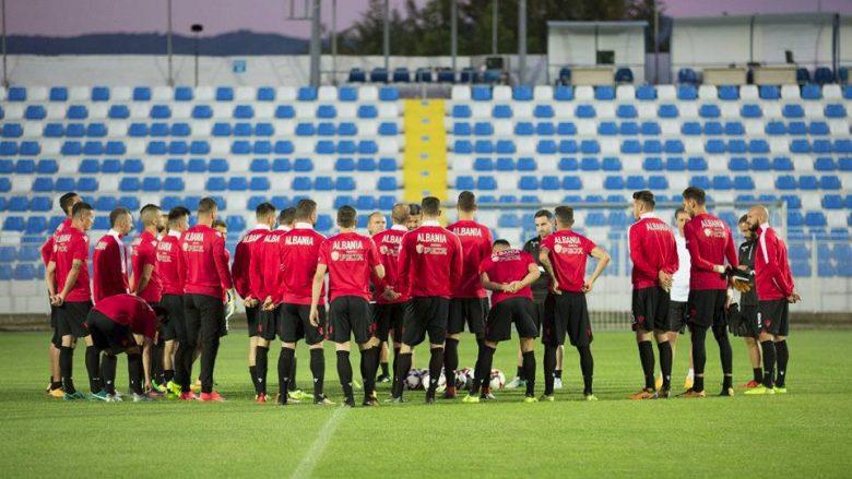 Formacionet zyrtare: Shqipëria për fitore në Maqedoni
