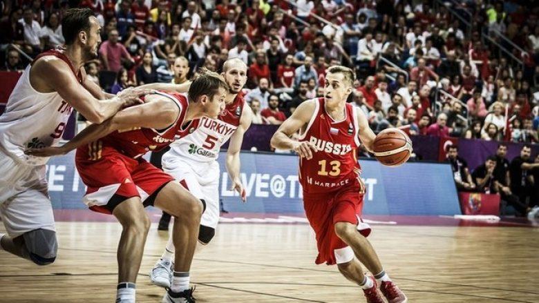 Eurobasket, drama në Stamboll i takon Rusisë