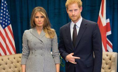 Takimi në mes të Melania Trump dhe Princit Harry, gjesti për të cilin po flasin të gjithë! (Video)