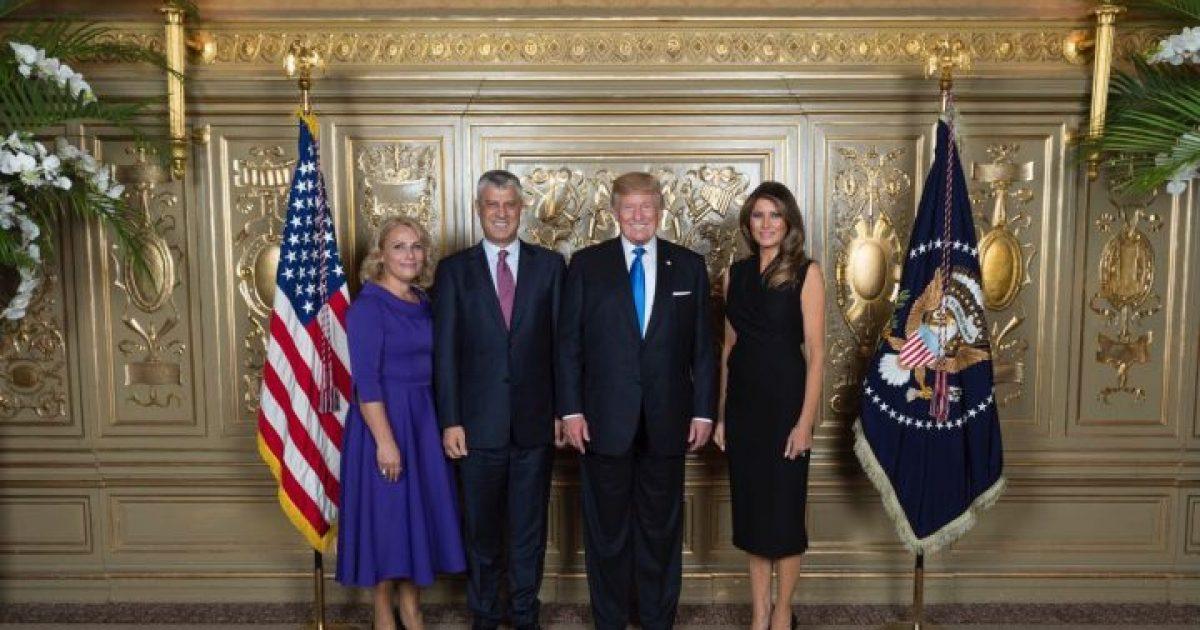 Thaçi  Trump më tha se Kosova ka një popullatë të mrekullueshme