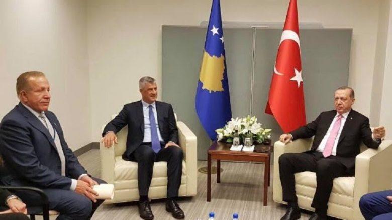 Thaçi takohet në Nju Jork me Erdoganin