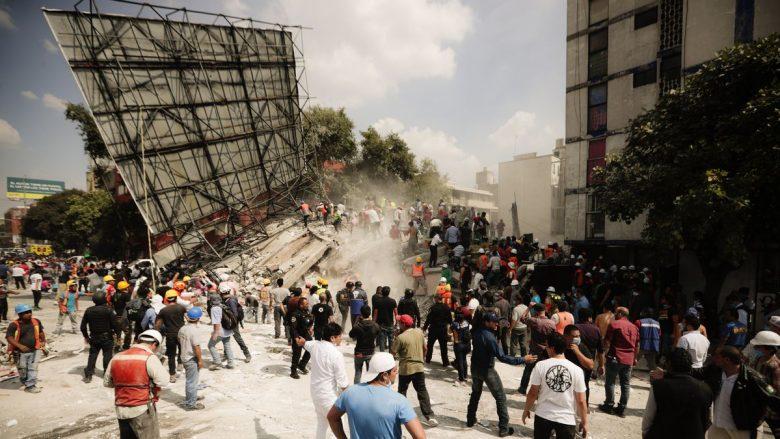 Meksikë: Numri i të vdekurve nga tërmeti arriti në 149 vetë
