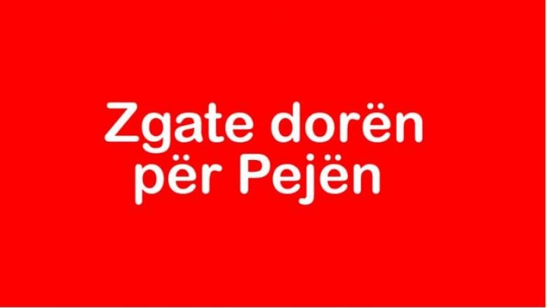 Vetëvendosje me kampanjë të re për fushatën në Pejë (Video)