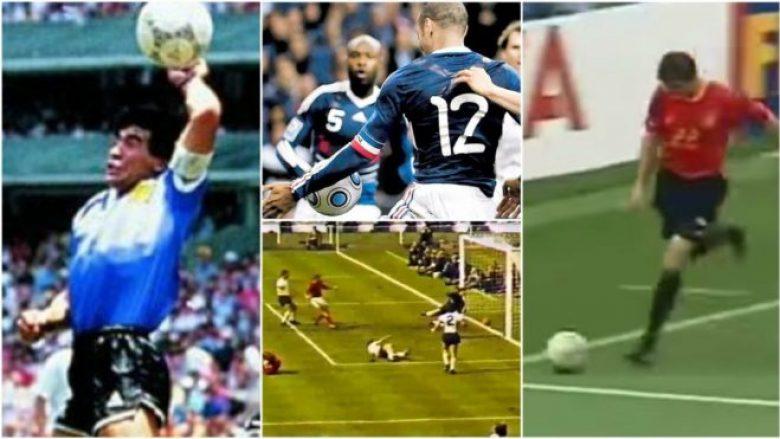 Dhjetë golat më të përfolur në histori të Kupës së Botës, nga Maradona te Henry (Video)