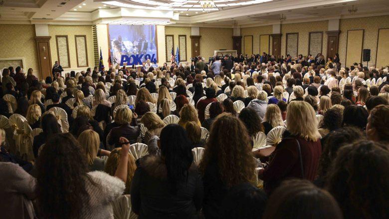 Veseli: Kudo ku merren vendimet, aty do të jenë gratë