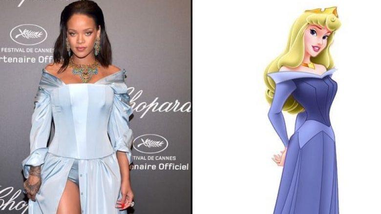 """Shtatë rastet kur Rihanna u """"binjakëzua"""" me karakteret e njohur nga filmat (Foto)"""