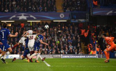 Lojë e bukur dhe gola, Chelsea dhe Roma ndahen baras (Video)