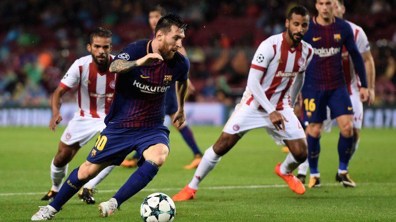 Barcelona 3-1 Olympiakos: Notat e lojtarëve, Messi ylli (Foto)