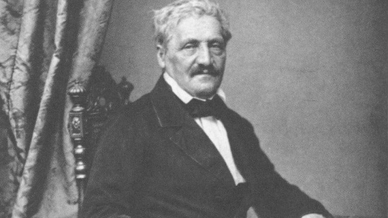 Jakob Philipp Fallmerayer (1790-1861), Hanfstaengl, Fotographie ca. 1860