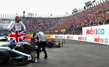 Lewis Hamilton, kampion i Formula 1 për të katërtën herë në karrierë (Foto)