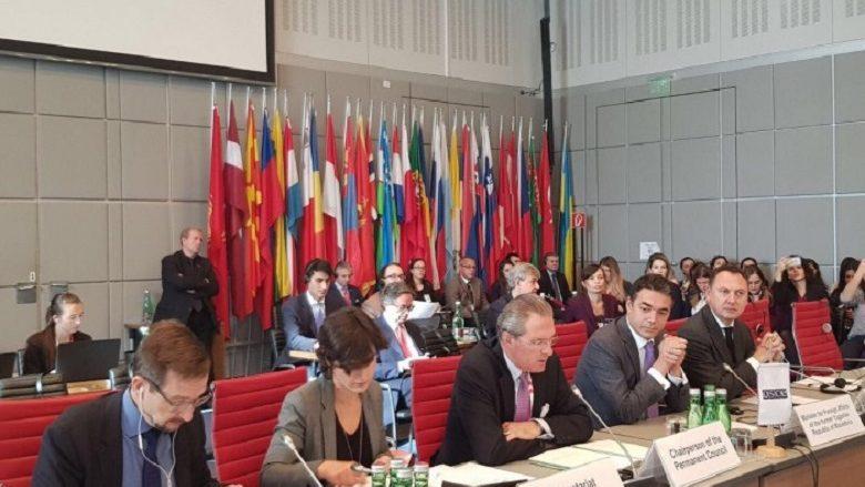 Fjalim i ministrit për punë të jashtme, Dimitrov në Këshillin e OSBE-së