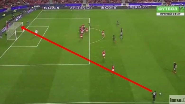 Unitedi në epërsi ndaj Benficas me golin fantastik të Rashfordit (Video)
