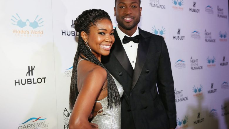 "MIAMI, FL - NOVEMBER 14:  Gabrielle Union and Dwyane Wade attend ""Dwyane Wade and Gabrielle Union host A Night on the RunWade"" presented by Carnival Foundation and Carnival at Ice Palace on November 14, 2015 in Miami, Florida.  (Photo by Aaron Davidson/WireImage) ORG XMIT: 591542605 ORIG FILE ID: 497201944"