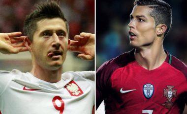 Ronaldo dhe Lewandowski shkruajnë historinë në kualifikime (Foto)