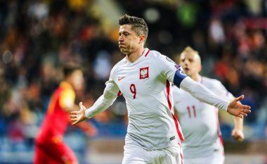 Lewandowski në histori të Polonisë, bëhet lojtari me më shumë gola të shënuara me Kombëtaren (Foto)