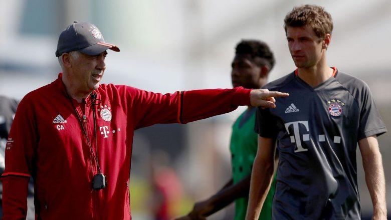 Muller: Problemet e Bayernit i krijuan lojtarët, jo Ancelotti