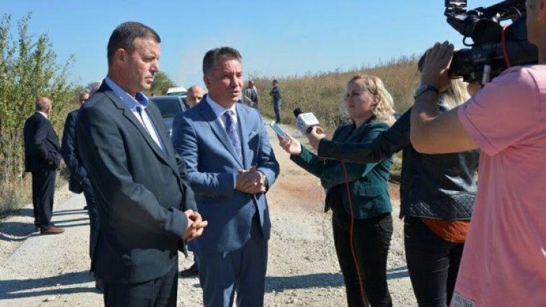 Lekaj inspekton projektet infrastrukturore në Obiliq