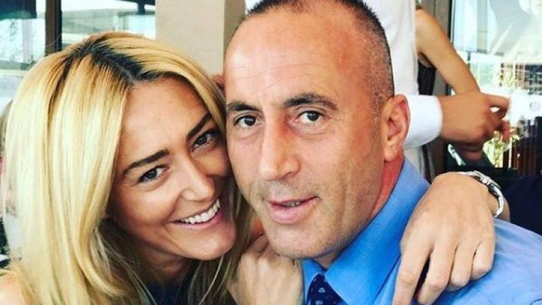 Festë në familjen Haradinaj: Anita feston 37 vjetorin e lindjes, Ramushi i jep puthjen pasionante (Foto)