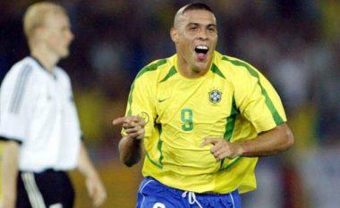 Fenomeni Ronaldo zgjedh formacionin më të mirë të të gjitha kohërave: Përfshihen Maradona, Pele dhe Messi, por mungon CR7 (Foto)