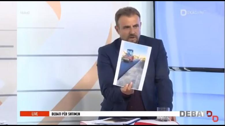 Sali: Ismajli po shtron asfalt te pronat e tij (Video)
