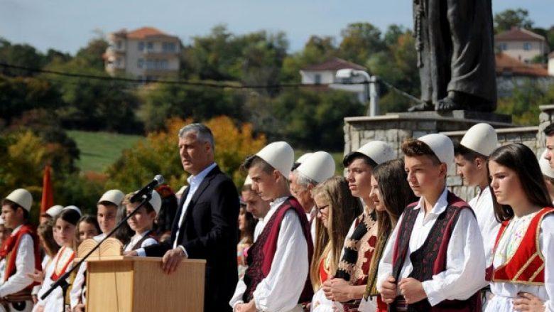 Thaçi: Gjeçovi ishte figurë poliedrike