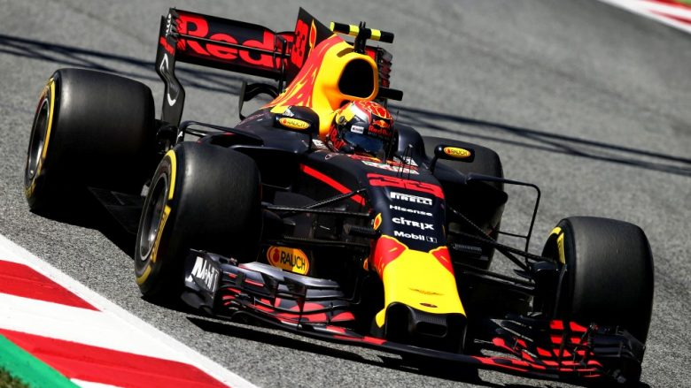 Max Verstappen (NLD) Red Bull Racing RB13. 13.05.2017. Formula 1 World Championship, Rd 5, Spanish Grand Prix, Barcelona, Spain, Qualifying Day. - www.xpbimages.com, EMail: requests@xpbimages.com - copy of publication required for printed pictures. Every used picture is fee-liable. © Copyright: Moy / XPB Images