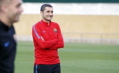 Valverde ndan skuadrën në katër pjesë: Lojtarët e paprekshëm, zëvendësues, të dorës së dytë dhe të panevojshëm