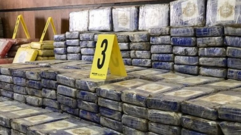 Sekuestrohet drogë me vlerë 100 milionë euro