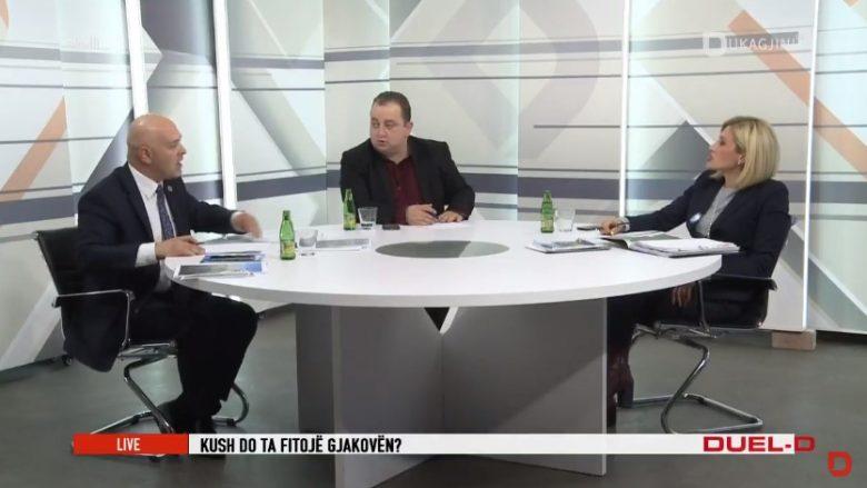 """Mimoza Kusari-Lila dhe Ardian Gjini përplasen në """"Duel D"""" të RTV Dukagjinit (Video)"""