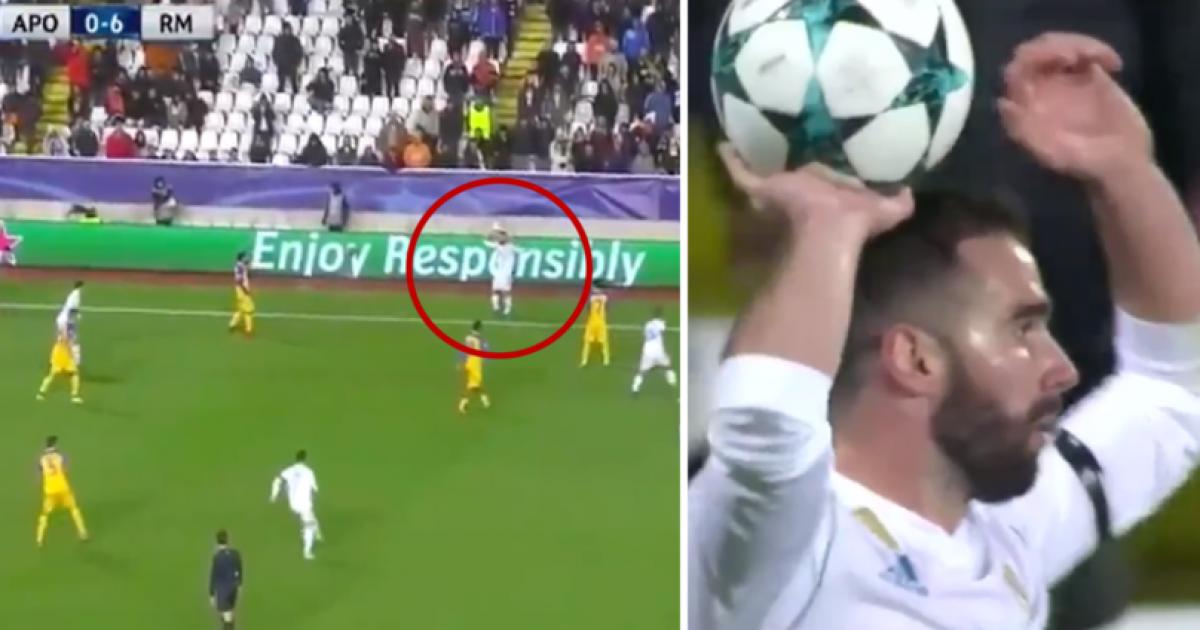 UEFA ka filluar hetimet ndaj Carvajalit për kartonin e verdhë gjatë rivënies anësore ndaj Apoelit